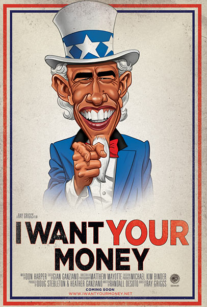 I Want Your Money poster