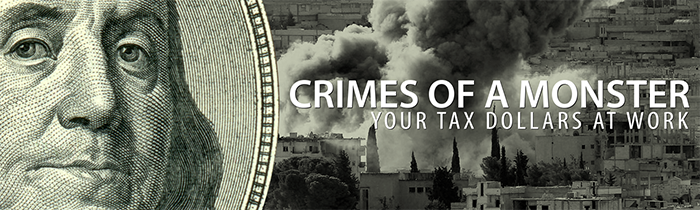 Crimes of a Monster: Your Tax Dollars at Work